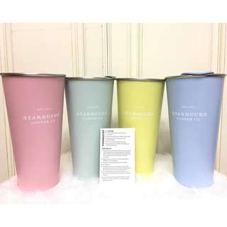 Starbucks Pastel Collection Tumbler 16oz 20%off