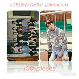 523 GOLDEN CHILD PHOTOCARD 💫 (100 PIECES)