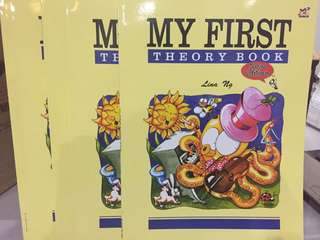MY FIRST THEORY BOOK LEVEL 1