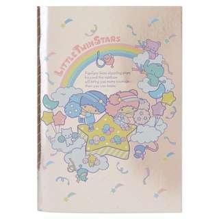日本代購 sanrio 專門店 2018年 3月 little twin stars a5 記事簿