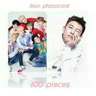523 IKON PHOTOCARD 💫 (100 PIECES)