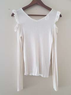 Cotton on cold shoulder top