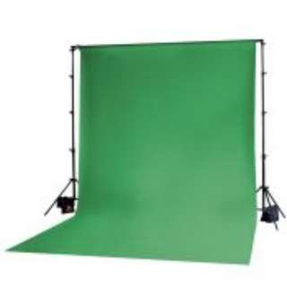Green Muslin Backdrop