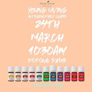 Young Living Essential Oils Free Intro Class