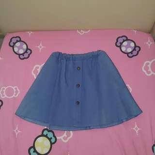 Button dowm Skirt