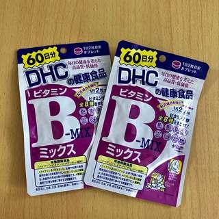 日本DHC 維他命B雜補充食品60日 ( 120粒 )