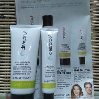 Bundle Clearproof moisturizer & spot solution for acne prone