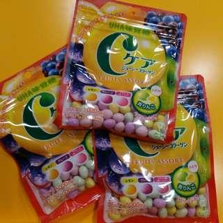 【UHA】c-care 雜果味軟糖 60g