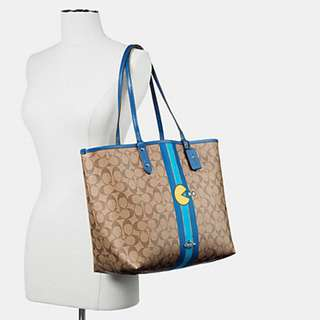 COACH 57277 PAC MAN REVERSIBLE TOTE IN SIGNATURE