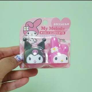 日本帶回My Melody x kurumi 可愛立體con盒隱形眼鏡盒