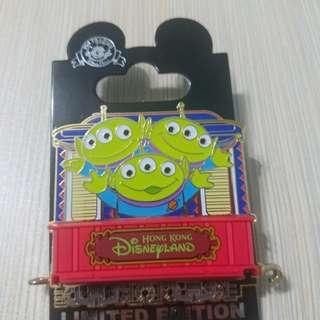 迪士尼pin 火車pin (3眼仔) Le 300