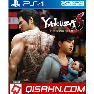 PS4 Yakuza 6: The Song of Life