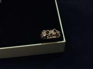 Chanel Inspired Rosegold Ring