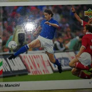 Roberto Mancini upper deck USA 94