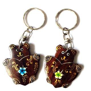 Set of 2 Balinese Keychains