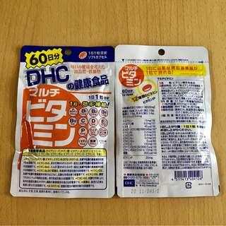 日本 DHC 綜合維他命補充食品 (60日份)60粒