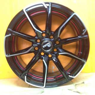 15 inch SPORT RIM RAYS CLUB 06 RACING WHEELS