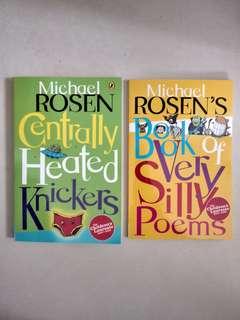 Poem Books by Michael Rosen (2 books)