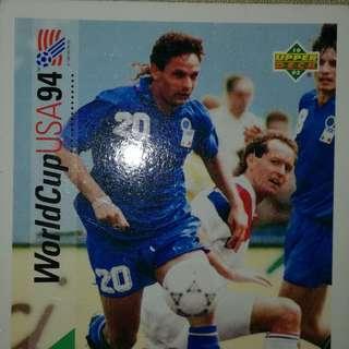 Roberto baggio upper deck USA 94