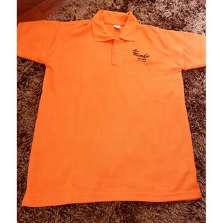 POLO SHIRT / T SHIRT / KAOS ORANGE