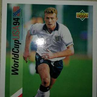 Alan shearer upper deck USA 94