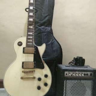 Electric Guitar set Japan Made Rush!