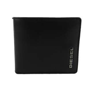Diesel Men Wallet (100% Original / REAL) 現貨goods in stock X01271-PS871-H2937  黑/灰色 BK/GY