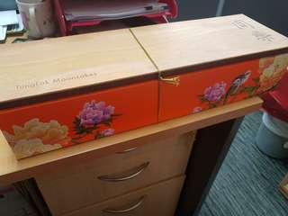 Tung Lok Mooncake Wooden Box