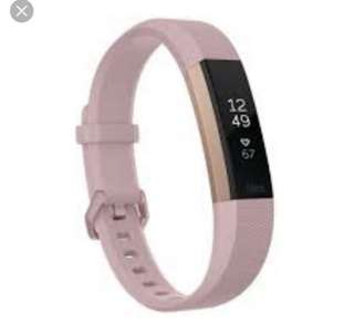 Fitbit Alta HR Rose Gold Brand New