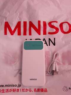 MINISO Powerbank 6000Mah