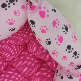 Pet Bed (medium-sized) Pink Paws