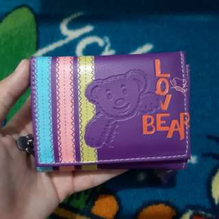 Teddy Bear Wallet