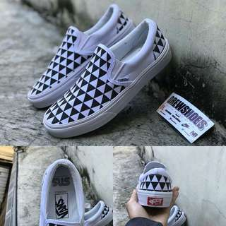 Vans Slipon Stockholm Black White