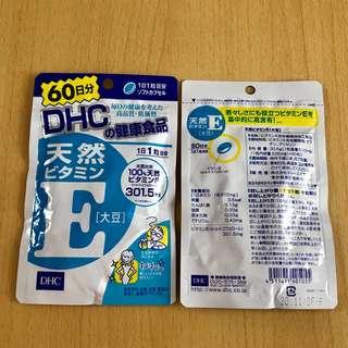 日本DHC天然維生素E(大豆)60天份60粒