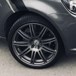 Vossen 18' Rims offset 35 with Goodyear F1 AS2 Tyres