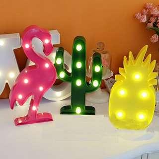 Lampu tidur / cactus lamp / home decor