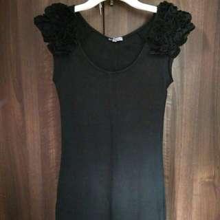 Mini dress black (titip jual)