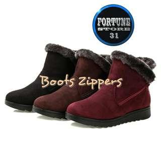 Sepatu Boots Winter Wanita