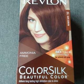REVLON COLORSILK Hair Dye in 31 Dark Auburn HALAL