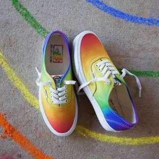 Vans authentic X dallas clayton (Rainbow) ORIGINAL BUKAN PREMIUM.