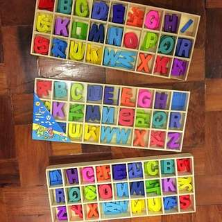 Artsy Multicolored Letters set
