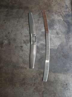 Vezel boot scuff plate