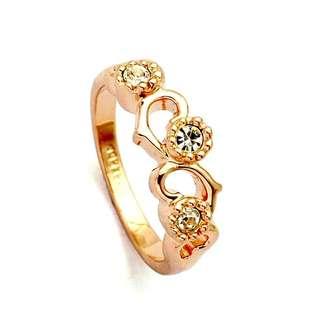 Women 18K Rose Gold Ring
