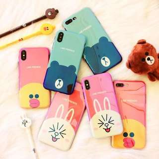 Cartoon iPhone case iPhone 6- iPhone X
