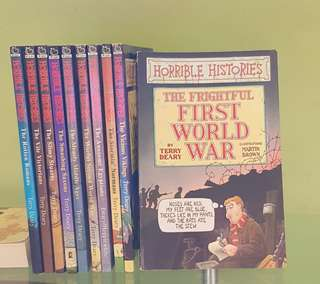 Horrible Histories Books (10 books)