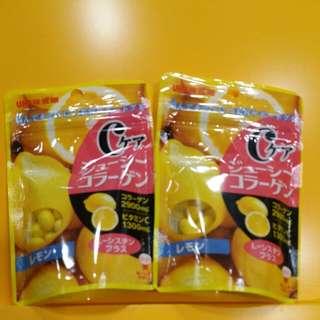 【UHA】c-care 檸檬味軟糖 40g