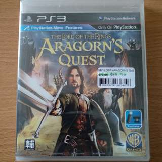 Ps3 Lord of the Ring Aragon's Quest