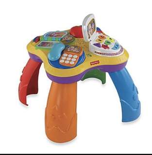 Fisher Price Activity Table.  Age : 6 months to 3 years.       Condition:9/10