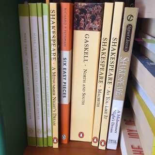 Classics - Shakespeare, Mark Twain, Robert Louis Stevenson