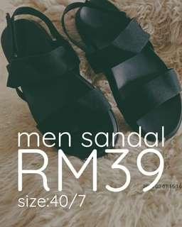 2018 Men Sandal BLK